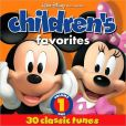 CD Cover Image. Title: Children's Favorites, Vol. 1 [Disney], Artist: Disney