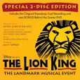 CD Cover Image. Title: The Lion King On Broadway, Artist: