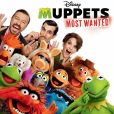 CD Cover Image. Title: Muppets Most Wanted, Artist: