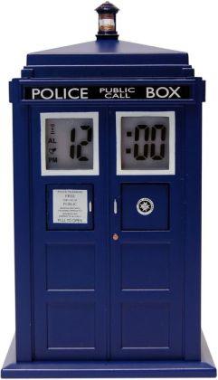 Doctor Who Clock Projection TARDIS Alarm