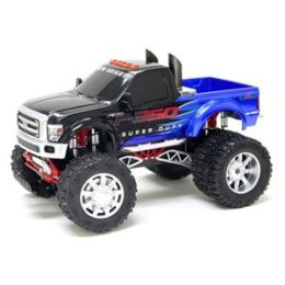 1:10 Scale Radio Control Vehicle 9.6V Ford F-350 Super Duty Dually in Blue