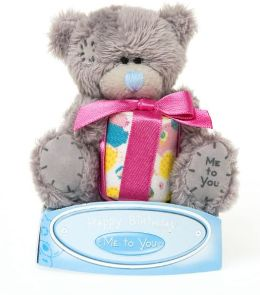 Me to You 3 Inch Bear With Present