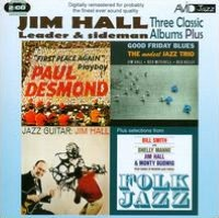 Three Classic Albums Plus: Jazz Guitar/Good Friday Blues/Paul Desmond-First Place Again