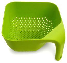 Square Colander Medium - Green