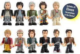Doctor Who/Character Building/Eleven Doctors Micro-Figure Set (11 Figures)