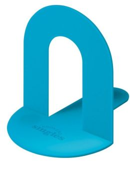 Bookend Single in Blue