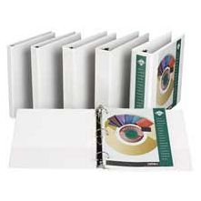 Samsill Corporation SAM18967 Insertable Binder- 2in. Capacity- 8-.50in.x11in.- White