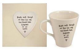 People Walk Through Our Lives Porcelain Mug, Gift Boxed