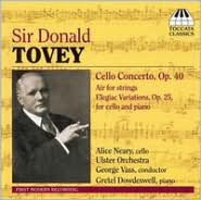 Sir Donald Tovey: Cello Concerto Op. 40