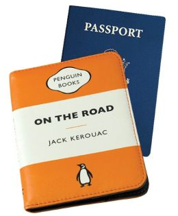 Penguin Passport Case On the Road