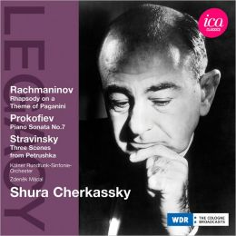 Rachmaninov: Rhapsody on a Theme of Paganini; Prokofiev: Piano Sonata No. 7; Stravinsky: Three Scenes from Petruschka