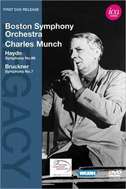 Boston Symphony Orchestra/Charles Munch: Haydn/Bruckner