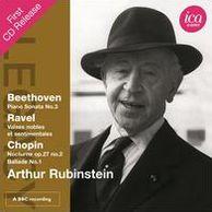 Beethoven: Piano Sonata No. 3; Ravel: Valses nobles et sentimentales; Chopin: Nocturne Op 27