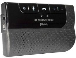 Monster 130605 MBLHFPCARBT AirTalk Bluetooth Car Kit - Noise-Cancellin