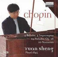 Chopin: 4 Ballades; 4 Impromptus; 24 Preludes; 20 Nocturnes
