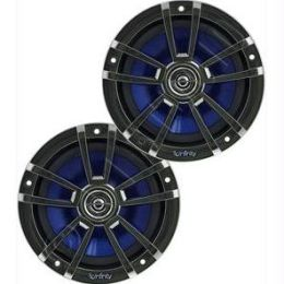 Infinity 612 6 1/2 Inch Two-Way Marine Speakers - Chrome 225W