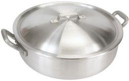Bayou Classic 8500 Aluminum 32-Qt. Deep Fryer- Lid - No Basket