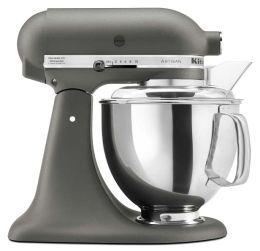 KitchenAid® KSM150PSGR Artisan® Series 5-Quart Tilt-Head Stand Mixer, Imperial Grey