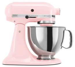 KitchenAid® KSM150PSPK Artisan® Series 5-Quart Tilt-Head Stand Mixer, Komen Pink