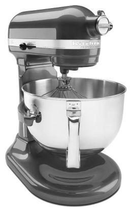 KitchenAid KP26M1XPM Professional 600 Series Bowl-Lift Stand Mixer - Pearl Metallic