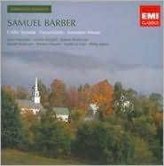 Samuel Barber: Cello Sonata; Excursions; Summer Music