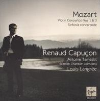 Mozart: Violin Concertos Nos. 1 & 3; Sinfonia concertante [Enhanced CD]