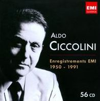 Aldo Ciccolini: Enregistrements EMI 1950-1991