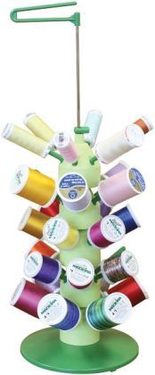Stack 'n Stitch Thread Tower With Nancy Zieman-5-7/8