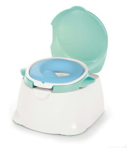 Dorel Juvenile Comfy Cushy 3 in 1 Potty White