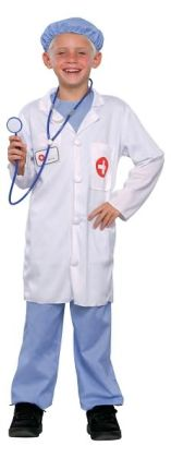Doctor Child Costume: Size Medium (8-10)