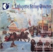 Borodin: String Quartet No. 2; Igor Stravinsky: Three Pieces for String Quartet
