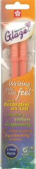 Gelly Roll Glaze Pens 2/Pkg-Orange