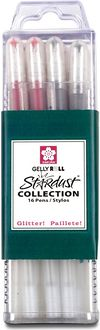Gelly Roll Stardust Pens 16/Pkg-Assorted Colors