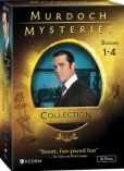 Video/DVD. Title: Murdoch Mysteries Collection: Seasons 1-4