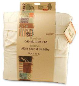 Babyluxe Bamboo Crib Mattress Pad 28