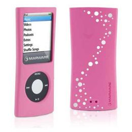Marware 602956005247 Sport Grip Deluxe For Ipod Nano 4G, Pink-White