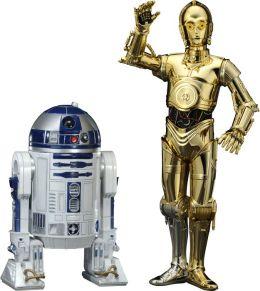 C3-PO & R2-D2 2 pack - Star Wars ArtFX+ Statues