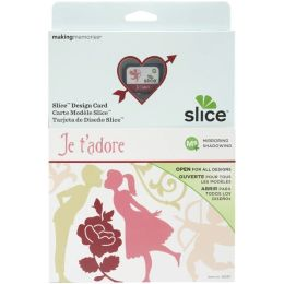 Slice Design Card-Je T'adore