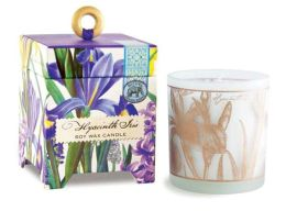 Hyacinth Iris Soy Wax Candle 6.5 oz