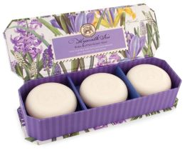 Hyacinth Iris Guest Soap - Set of 3