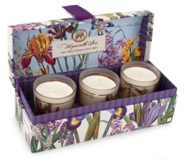 Hyacinth Iris Soy Wax Candle Gift Set/3