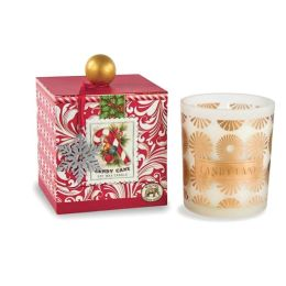 Candy Cane Large Soy Wax Candle