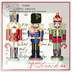 Nutcracker Sweet Square Glass Tray 6X6