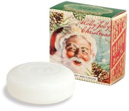 Holly Jolly Christmas Small Boxed Soap