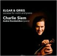 Elgar, Grieg: Sonatas for violin & piano