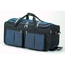 Athalon Sportsgear 534BL Athalon 34 in. Wheeling Duffel Blue