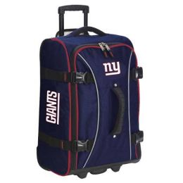 Athalon Sportsgear 171NYG Athalon NFL Wheeling Hybrid Luggage 21 in. New York Giants Dark blue