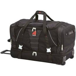 Athalon Sportsgear 888B Athalon 29 in. Equipment Wheeling Duffel Black