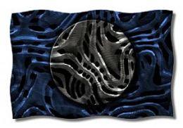 All My Walls ABS00013 Midnight Moon Metal Wall Art