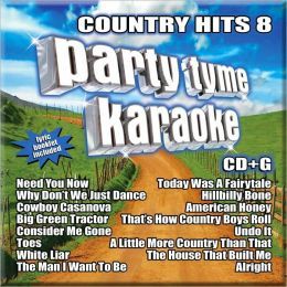 Party Tyme Karaoke: Country Hits, Vol. 8